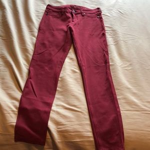 Liverpool red jegging